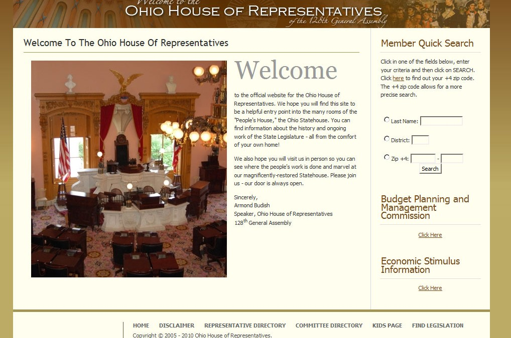Ohio House of Representatives